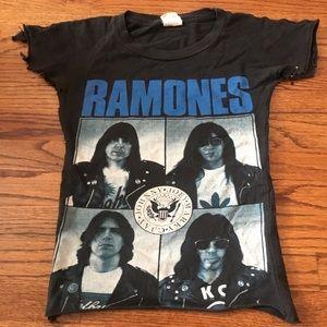 VINTAGE Ramones Adios Amigos T shirt Altered Punk